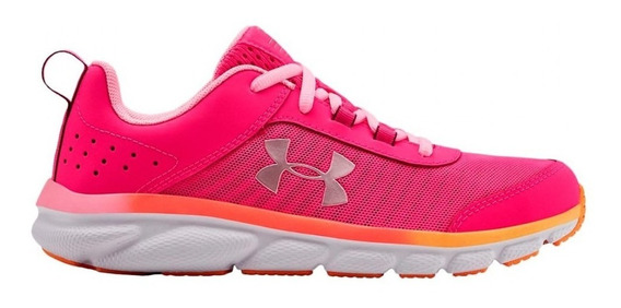 Zapatillas Under Armour Grade School Assert 8 Fuc De Niñas