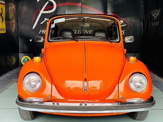Volkswagen Sedan (vocho) Superbeetle Convertible Año:1975