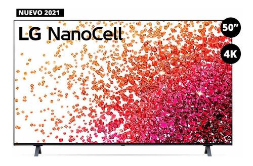 Imagen 1 de 5 de Televisor LG Nanocell Nano75 50'' 4k - 50nano75spa