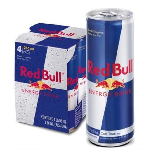 Imagen 1 de 5 de Red Bull Energy Drink 250ml Lata X 1 Un