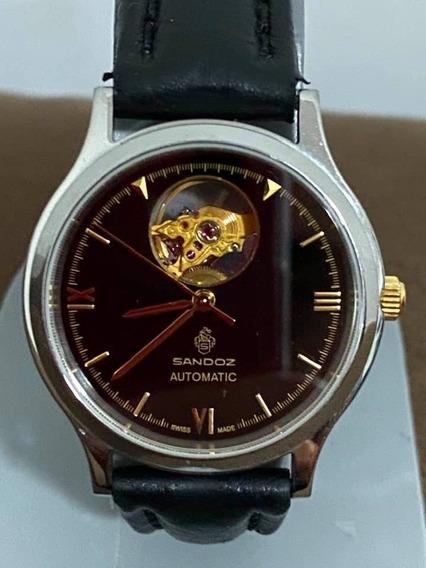 Reloj Sandoz Esqueleto Automatico