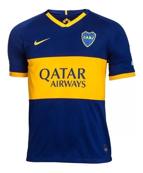Nueva Camiseta Boca Juniors 2019/2020 Qatar Titular Original