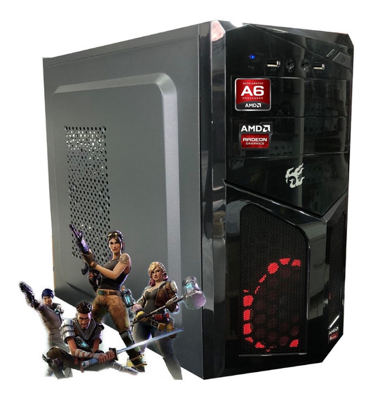 Cpu Gamer Barata Amd A6 7480 8gb Ssd 120gb Video Radeon R5