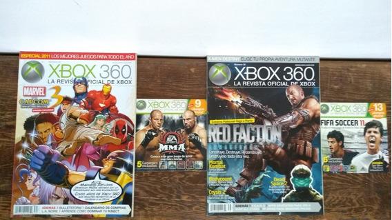 Revista Oficial De Xbox 11 Revistas Xbox 360 + 4 Revistas