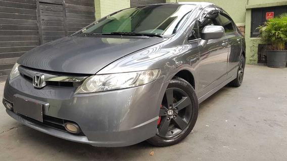 Honda Civic Lxs 1.8 2007 Completo