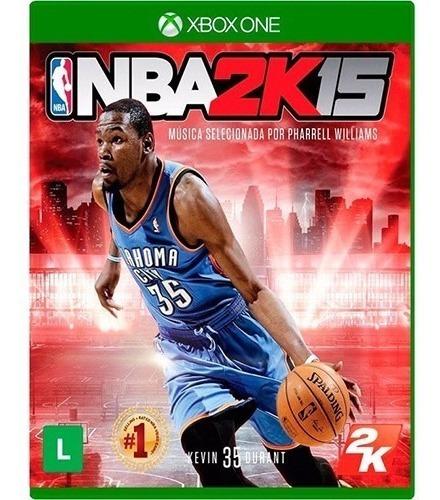 Jogo Seminovo Nba2k15- Xbox One - Mídia Física