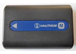 Batería Sony Info Lithium M Np-fm30 Original