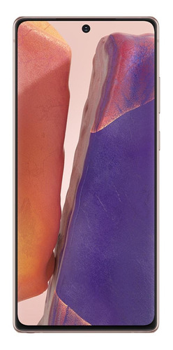 Celular Smartphone Samsung Galaxy Note 20 N981b 256gb Bronze - Dual Chip
