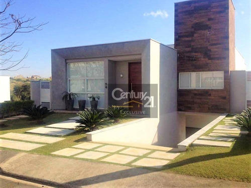 Imagem 1 de 23 de Casa À Venda, 275 M² Por R$ 1.500.000,00 - Condomínio Terra Magna - Indaiatuba/sp - Ca0066