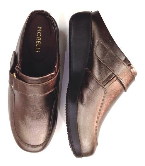 Calçado Feminino Conforto Ortopédico Modelo Mule 1154