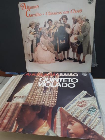 Lote 08 Discos Em Vinil Quinteto Violado Ângela Maria Outros