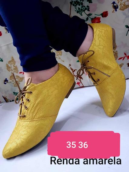 Sapato Feminino Oxford Social Calçado Sapatenis Sapatilha