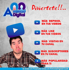 Publicidad Internet Influencers E Youtubers Amistadigital