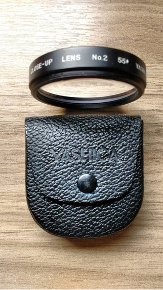 Filtro Close Up 55mm Yashica Com Case Zero!