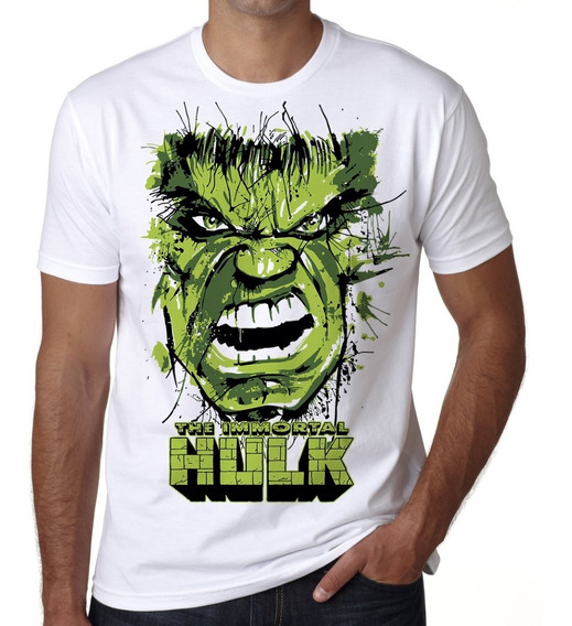 Playera Hulk El Increible Marvel Comics Token A La Moda