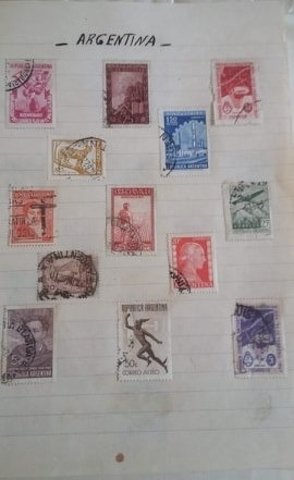 Colección De Estampillas Antiguas (poco Más De 1000)