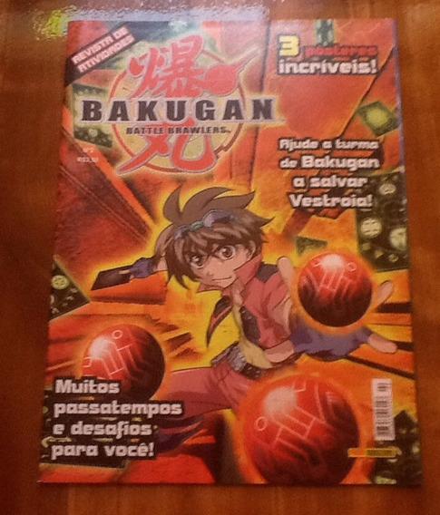 Revista Bakugan (colorir E Atividades)