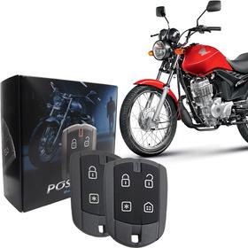 Alarme Para Moto Pósitron Duoblock Fx G6 Cg Titan Presença