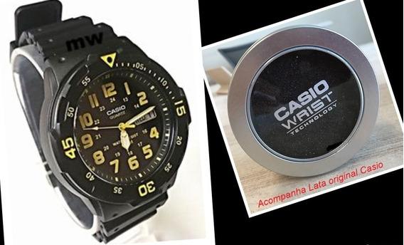 Relógio Masculino Casio 100m Analógico Quartzo Mrw-200h