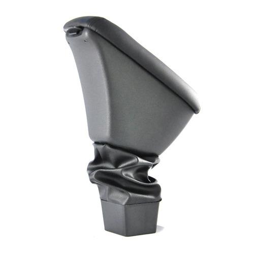 Imagem 1 de 6 de  Apoio De Braço Para Honda New Fit Preto - Couro Sintético