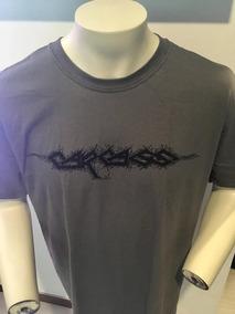 Carcass Logo T-shirt L Grey Merch Official Importada