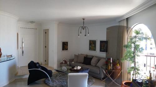 Apartamento Com 3 Dormitórios À Venda, 170 M² Por R$ 1.650.000,00 - Moema - São Paulo/sp - 4289