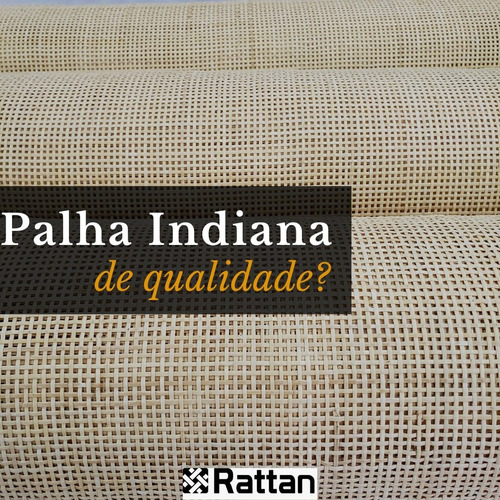 Palha Da Índia Palhinha Indiana Tela De Rattan (j07) 5mx0,60