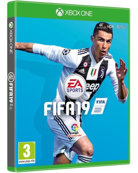 Jogo Fifa 19 Xbox One Midia Fisica Game Original Dublado Br