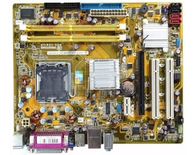 Placa Mãe 775 Pos-ag31ap Onboard Aceita Core2 Duo/quad Core
