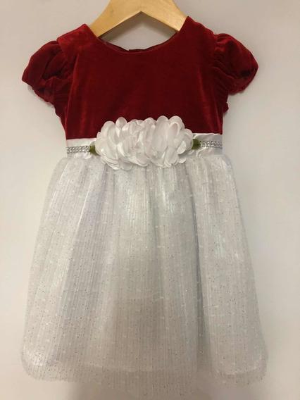 Hermoso Vestido De Fiesta Importado Nena 2/3 Años, Nuevo!!