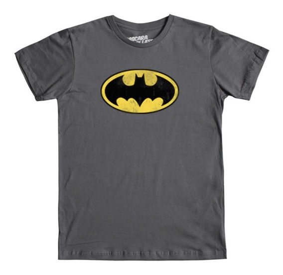 Playera Mascara De Latex Batman Logo2