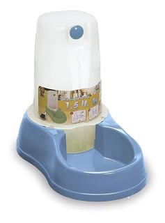 Comedero Y Bebedero Automático 1,5 Litros Perros Gatos Masco