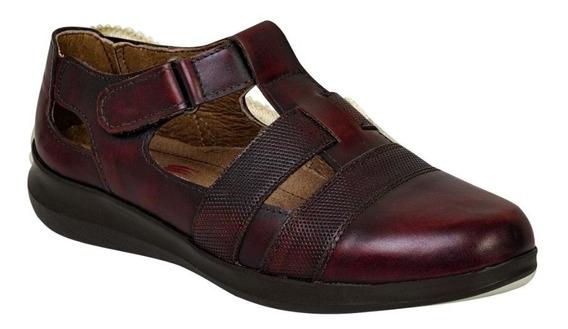 Zapato Piel Descanso Para Dama Marca Epidemia Jg