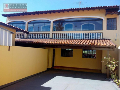Casa Com 3 Dormitórios Para Alugar - Jardim Panorama - Valinhos/sp - Ca0423
