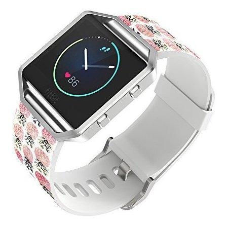 Fitbit Blaze Watch Band Leather Viwell Smart Correa De Reloj