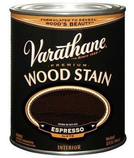 Varathane 241412h Premium Wood Stain Quart Espresso