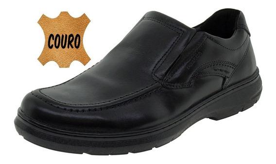 Sapato Masculino Social Preto Pegada - 125006
