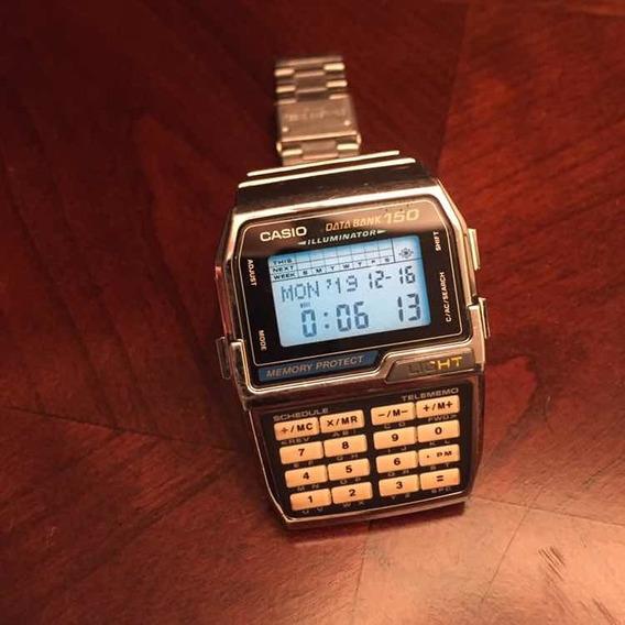 Reloj Casio Dbc-1500 Data Bank 150 Módulo 1477 Año 1996
