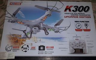 Dron Koome K-300 Camara Hd, Giroscopio Y Tecla De Regreso.