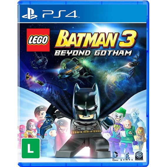 Lego Batman 3 Ps4 Mídia Física