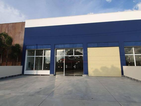 Salão Para Alugar, 422 M² Por R$ 15.000/mês - Jardim Santana - Campinas/sp - Sl0110