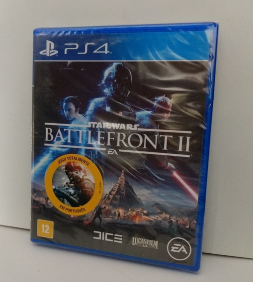 Star Wars Battlefront 2 Ps4 Mídia Física Lacrado