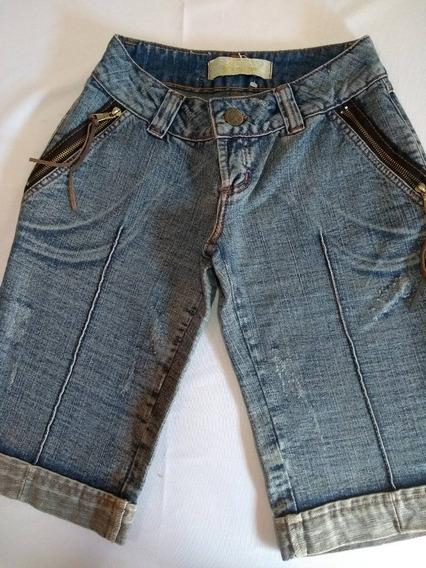 Bermuda Feminina Em Jeans Ref Ss 205