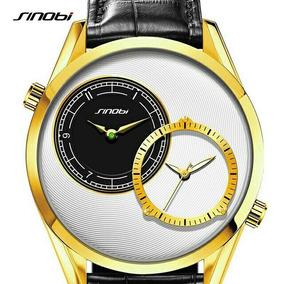 Relógio De Ouro Dos Homens Marca De Moda Casual Esporte Reló