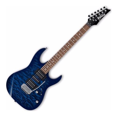 Ibanez Grx70qa Tbb Blue Burst Gio Guitarra Palanca