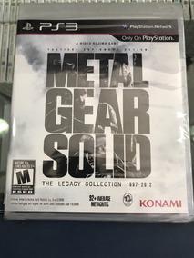 Metal Gear Solid The Legacy Collec. Lacrado Playstation 3 Ps