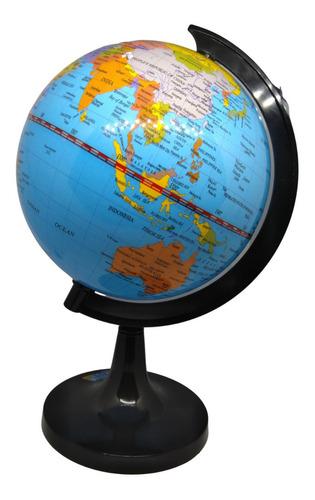 Globo Terráqueo Mapa Politico Planeta Tierra 14cm