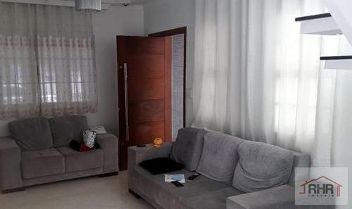 Sobrado Para Venda Em Suzano, Vila Urupes, 3 Dormitórios, 1 Suíte, 3 Banheiros, 2 Vagas - 974_1-1872317