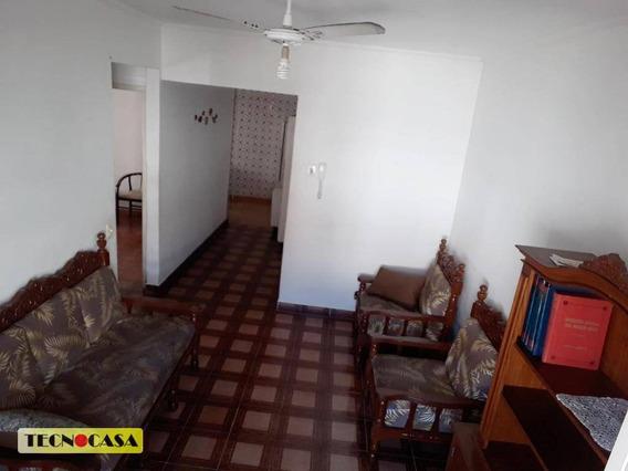 Oportunidade, Em Bairro Residencial No Canto Do Forte Em Praia Grande. Lindo Apartamento Mobiliado Para Vender E Alugar Com 02 Dormitórios. - Ap5748