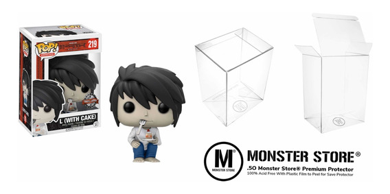 Funko Pop Death Note L With Cake Hot Topic Exclusive